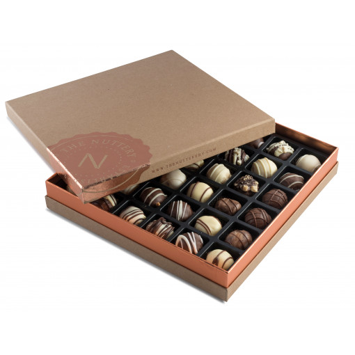 Nuttery- Signature Chocolate Truffle Box, 36 pieces