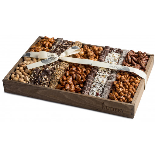 Nuttery Signature Tray - Chocolate & Nuts - Medium size tray