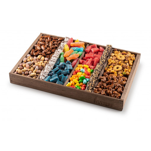 Nuttery Signature Tray Medium Size-Chocolate Nuts and Candy