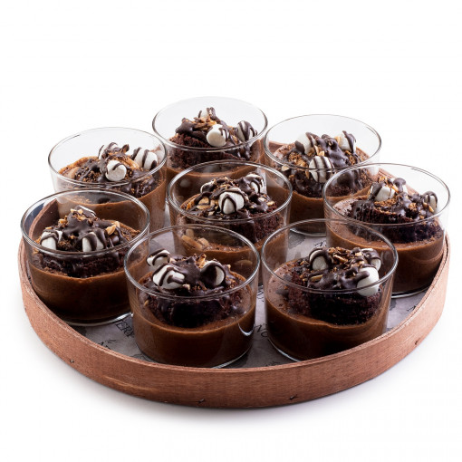 The Nuttery Dessert Mousse Cups Set of 8