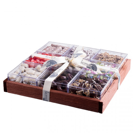 The Nuttery Premium Chocolate Mega Gift Tray in Individual Boxes