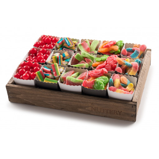 Candy Gift Tray with Individual Party Cups