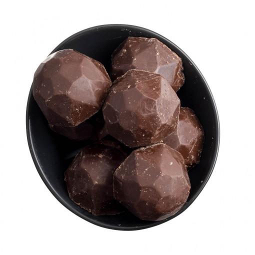 Hazelnut Diamond Dark Chocolate Truffles
