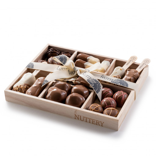 The Nuttery Dairy Pops, Truffles, Turtles Small Gift Tray