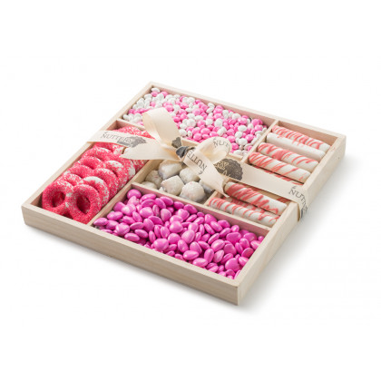 Baby Girl Pink Wooden 5 section