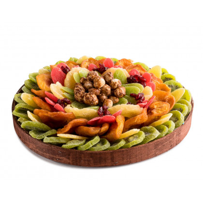 Dried Fruit Tray Circle