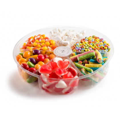 Plastic 6 section-Candy Gift Tray