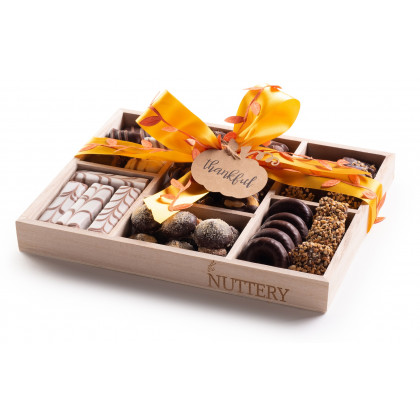 Nuttery Classic 7 Section Chocolate Tray- Thanksgiving Gift