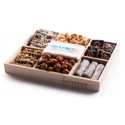 Nuttery Custom Corporate Classic 7 Section Gift Tray