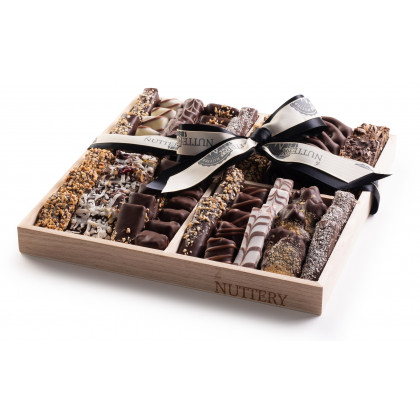 Nuttery Classic 4 Section Specialty Chocolate Gift Tray