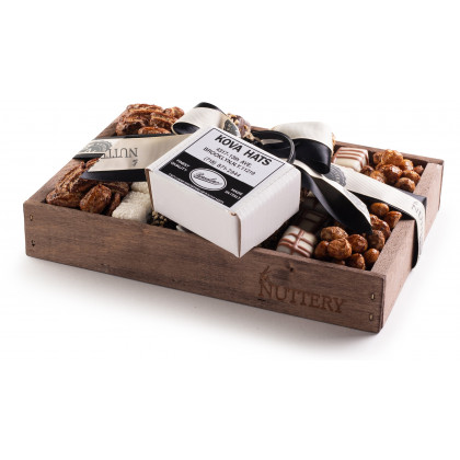 Nuttery Signature Bar Mitzvah Gift Tray- Small