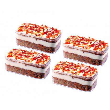 Nuttery Mini Carrot Cake-Shavuos Specialty