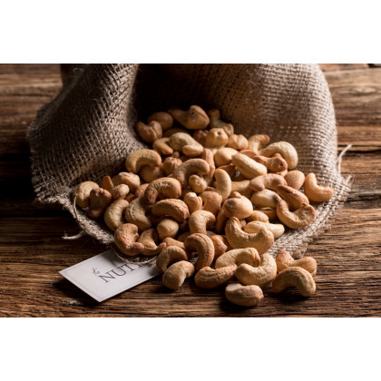 CASHEWS DRY ROASTED & SALTED