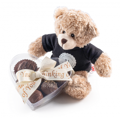 The Nuttery Thinking of You Chocolate Heart Gift Box