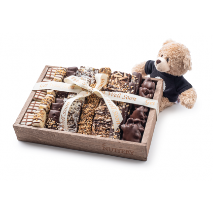 The Nuttery Signature Get Well Chocolate Tray