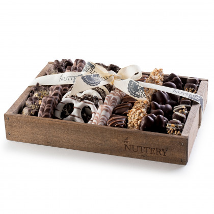 Nuttery Signature Tray - Chocolate & Pretzels - Small Size Tray