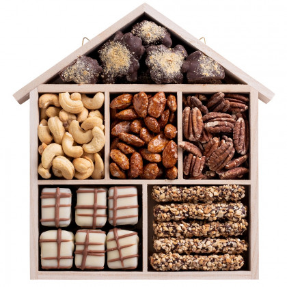 Chocolate and Nuts House Gift Tray