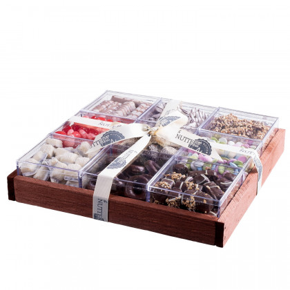 The Nuttery Premium Chocolate Mega Gift Tray in Indivudual Boxes