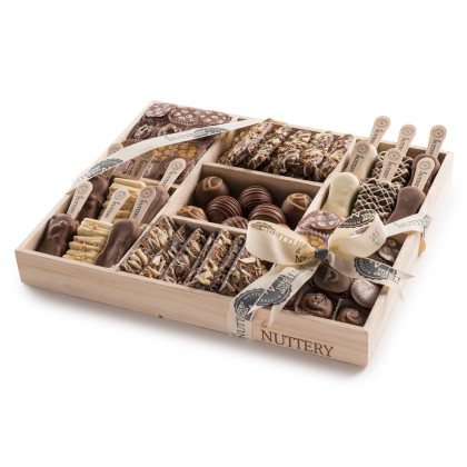 Nuttery Shavuot Dairy Pops, Truffles and Bark Gift Tray