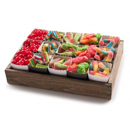 Candy Git Tray with Individual Party Cups-Small Size Tray (15 cups)