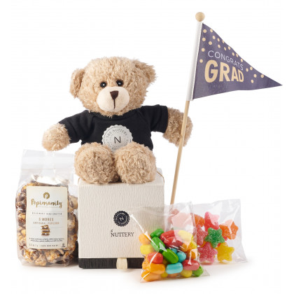 Graduation Party Candy Gift Box With Congrats Bear
