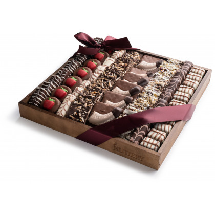 Nuttery Rosh Hashanah Specialty Chocolate Gift Platter