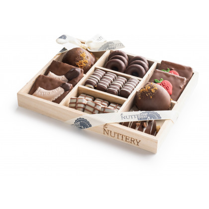 Nuttery Rosh Hashanah 7 Section Small Gift Tray