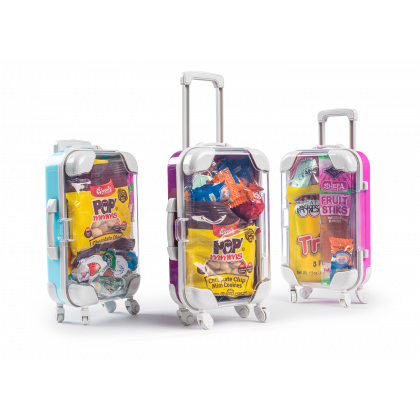 Purim Kids Candy Filled Colored Suitcase