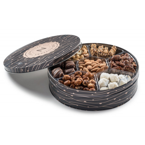 Nuttery Signature Chocolate Nut Gift Tin-Large