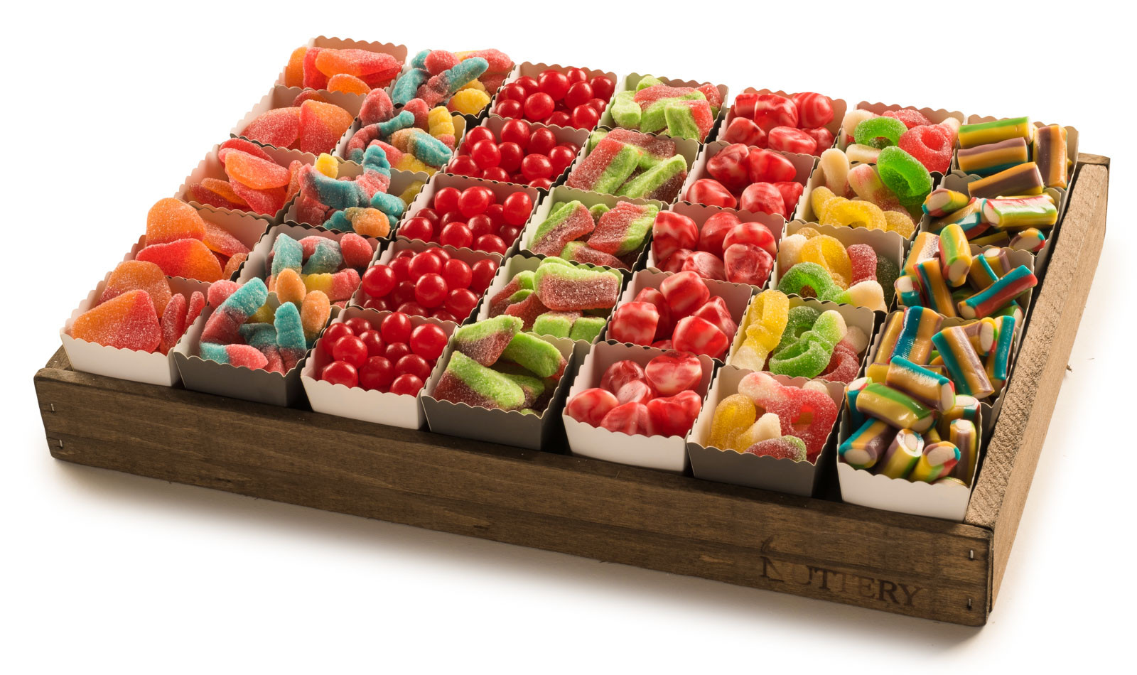 Gift Tray Assorted Candy Nuttery