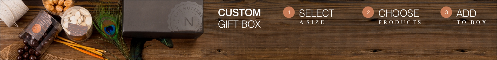 customize your own gift box nuttery